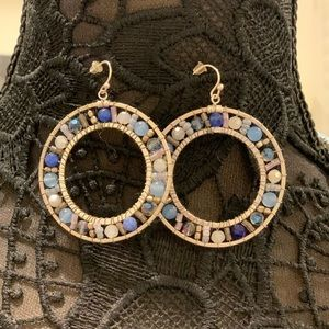 Nakamol Crystal Bead Drop Earrings